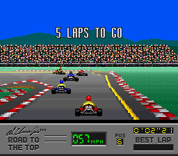 Play Al Unser Jr's Road to the Top Online