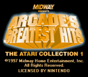 Play Arcade's Greatest Hits – The Atari Collection 1 Online