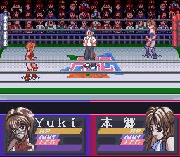 Play Bishoujo Wrestler Retsuden – Blizzard Yuki Rannyuu!! Online