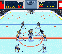 Play Brett Hull Hockey '95 Online