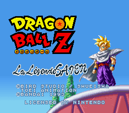Play Dragon Ball Z – La Legende Saien Online