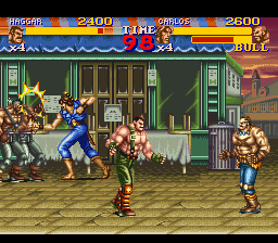 Play Final Fight 2 Online