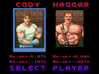 Play Final Fight Debug Online