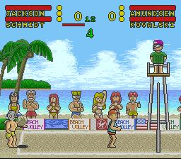 Play Inazuma Serve da! Super Beach Volley Online