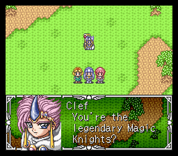 Play Magic Knight Rayearth Online