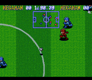 Play Megaman's Soccer – 99 S. Shoots Online