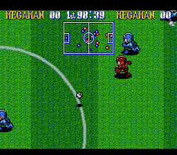 Play Megaman's Soccer – 99 S. Shoots Online