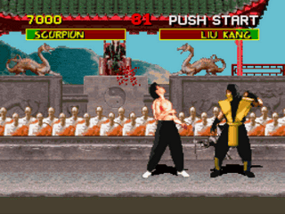 Play Mortal Kombat (Blood Patch) Online