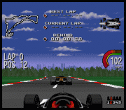 Play Newman-Hass Indy Car Featuring Nigel Mansell Online