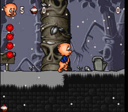 Play Porky Pig's Haunted Holiday Online