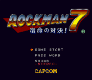 Play Rockman 7 (english translation) Online