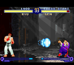 Play Street Fighter Alpha 2 Online