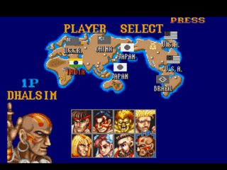 Play Street Fighter II – Tian Long Jue Online