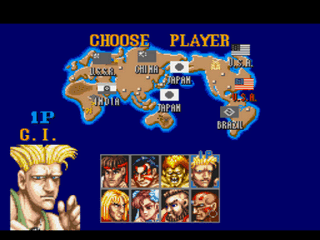 Play Street Fighter II Super Jump Edition Online