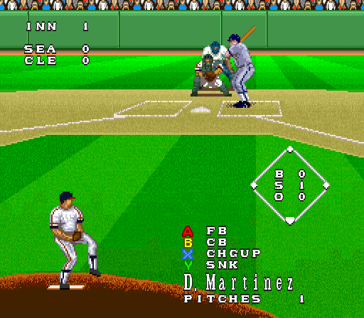 Play Super Bases Loaded 3 – License to Steal Online