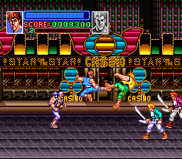 Play Super Double Dragon Online