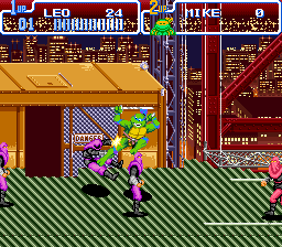 Play Teenage Mutant Ninja Turtles IV – Turtles in Time Online