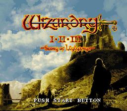 Play Wizardry I-II-III – Story of Llylgamyn Online