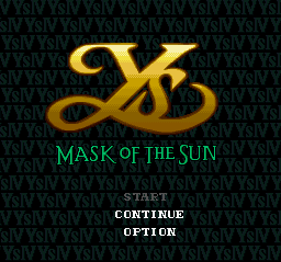 Play Ys IV – Mask of the Sun Online