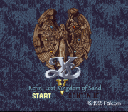 Play Ys V – Kefin Lost Kingdom of Sand (english translation) Online
